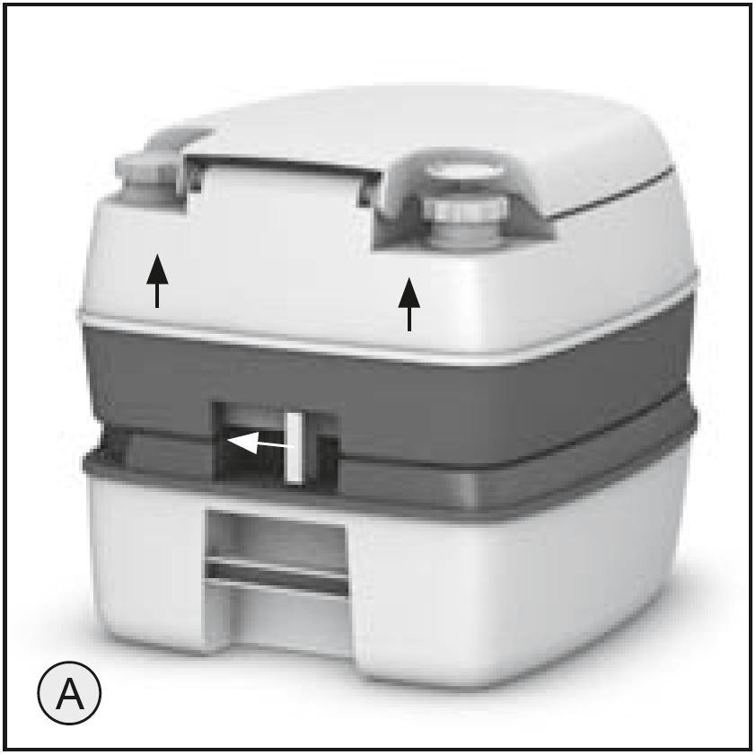 Enders wc chimique montage et manuel d utilisation - Cristaux de soude utilisation wc ...