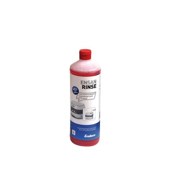 Concentré liquide sanitaire pour toilettes chimiques Ensan Rinse 1l