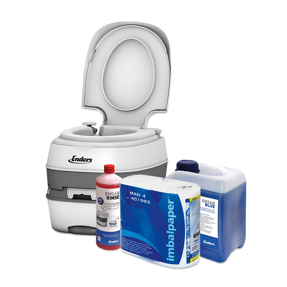 Kit wc chimique enders blue deluxe wc - Bagno chimico in casa ...