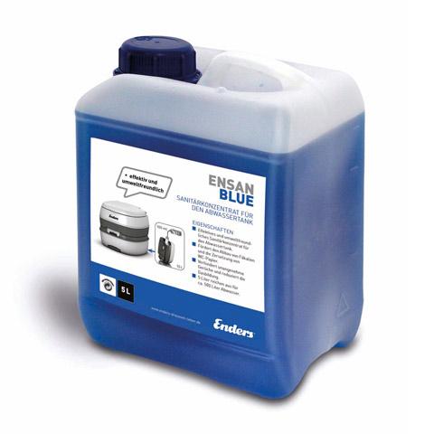 Produit sanitaire ensan blue 5l wc - Produit pour wc chimique ...